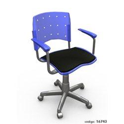 Cadeira Tn 04 Azul Translucido tiff35